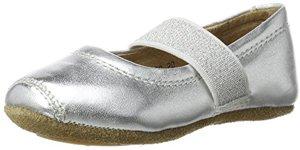 Ballet Geschlossene Ballerinas Silber Silver