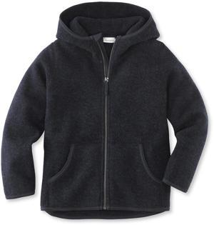 Wollfleece Jacke aus Bio-Merinowolle