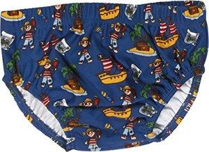 Schwimmwindel Badewindel Badehose Pirateninsel UV-Schutz nach Oeko-Tex Mehrfarbig Original