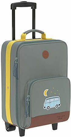 Kindergepäck Reisekoffer mit Packriemen Kids Adventure Bus
