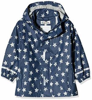 Regenjacke Regenmantel Sterne Marine