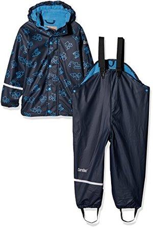Wasserdichte Regenlatzhose -jacke Set Verschiedene Farben Dark