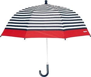 Regenschirm Maritim One Size mit Kindgerechtem Mechanismus Diameter Gestreift