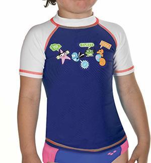 Sonnenschutz Bade T-Shirt Schnelltrocknend UV-Schutz UPF Chlor- Salzwasserbeständig