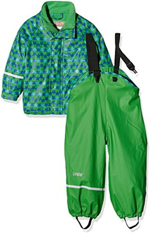 Wasserdichte Regenlatzhose -jacke Set Verschiedene Farben Grün