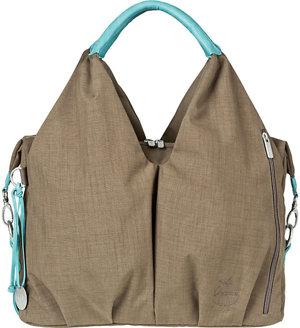 Wickeltasche Neckline Bag Taupe