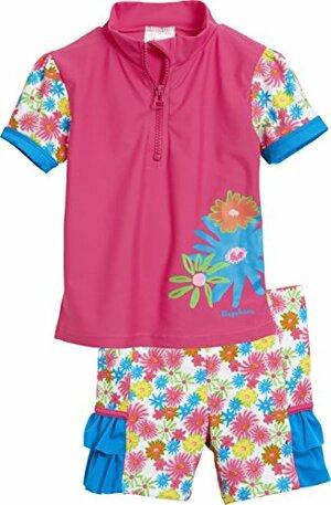 Tankini Bade Set Blumenmeer mit Schutz Mehrfarbig
