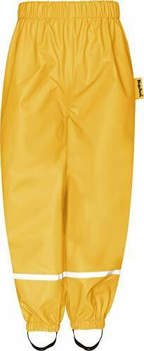 Fleece-Halbhose Regenhose Gelb