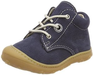 Lauflern Schuhe Cory von Pepino Weite WMS Schnürschuh Schnürstiefelchen Flexibel Leicht See Child