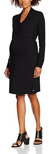 Maternity Dress Nursing Umstandskleid Black