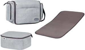2-in- Babytragetasche Travelnest Smokey