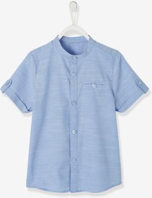 Festliches N-Hemd mit Stehkragen von