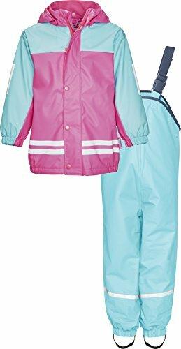 Regenanzug-Set mit Fleece Gefüttert Matsch-Anzug 2-teilig Wind- Wasserdicht