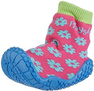Aqua-Socke Badeschuhe Blume Original