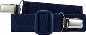 Elastischer Kindergürtel mit Clips Uni Passend bei one size Marine