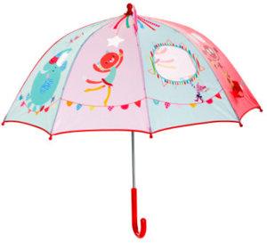 Regenschirm Zirkus