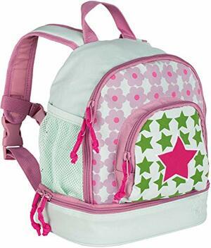 Starlight Kinderrucksack Kindergartentasche mit Brustgurt Magenta