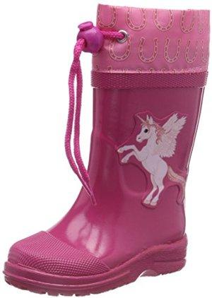 Unicorn Gummistiefel Pink