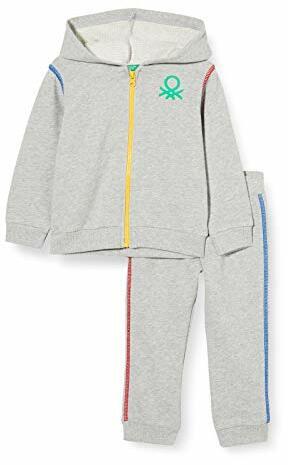 Colors Benetton Comp Giacca Pant Thermounterwäsche-Set Melange