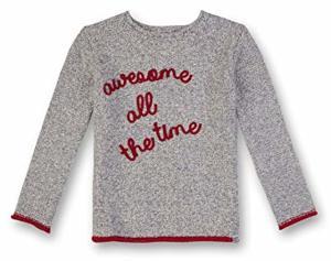 GINA LUCY GIRLS Jumper Pullover Grau Melange