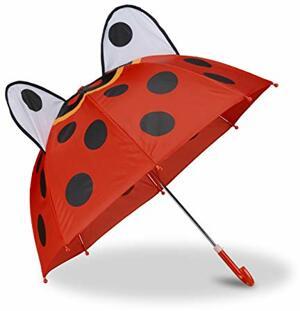 Kinderregenschirm Marienkäfer Stockschirm Punkten
