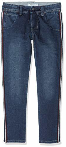 Sweatjeans mit Seitenstreifen NKMBABU Medium Denim