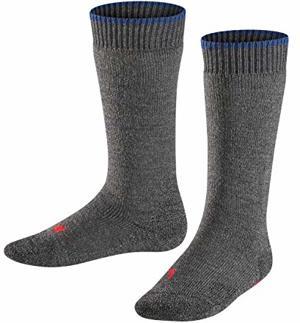 Active Warm Socken Blickdicht Asphalt Melange