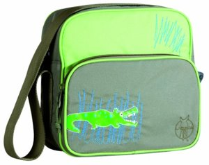 Mini Square Bag Kindergartentasche Crocodile Granny