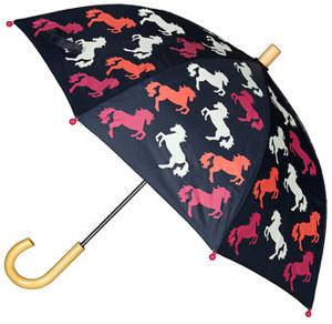 Regenschirm PLAYFUL HORSES