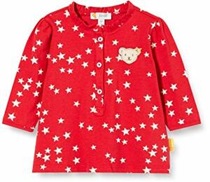 mit Süßer Teddybärapplikation Bluse Langarm Tango