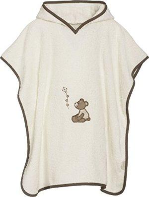 Badeponcho Bär mit Kapuze Bademantel One size
