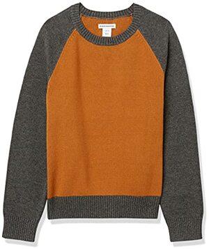 Essentials Boys Crewneck Sweater Pullover Farbblock