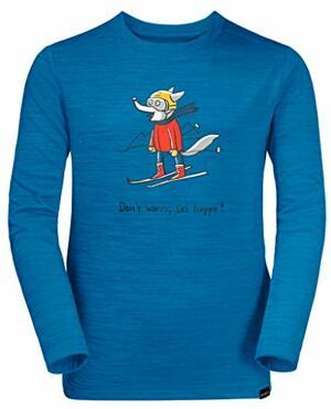 Wolfskin Skiing Sweatshirt Pacific
