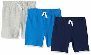 Essentials Shorts 3er-Pack Mehrfarbig Solid