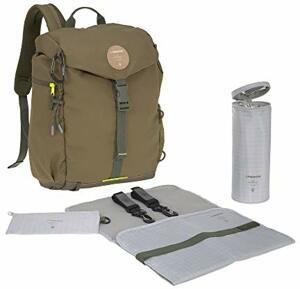 Wickelrucksack mit Wickelunterlage Kinderwagenbefestigung Flaschenwärmer Wasserabweisend Nachhaltig Produziert Outdoor Backpack