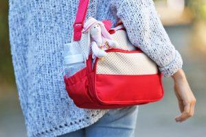 Wickeltasche packen für unterwegs