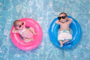 Baby Bademode Pool