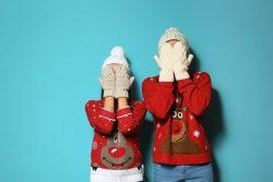 Weihnachtspullover Kinder